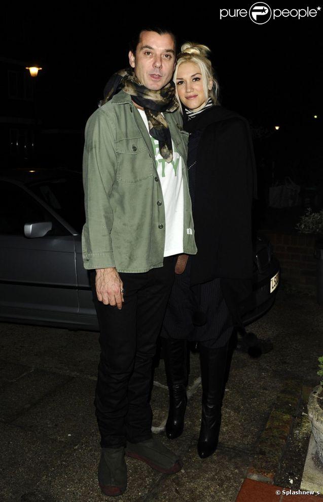 Гвен Стефани и Гэвин Россдейл - прогулка в Лондоне